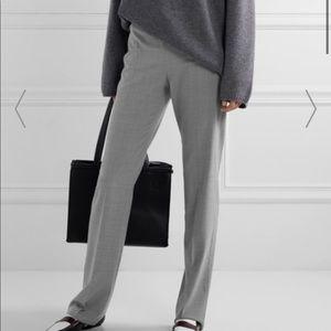MaxMara Edison Gray Linen Trouser Dress Pant Sz 14
